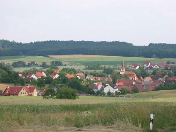 Franken, Steigerwald, Ferienhof Gräbner